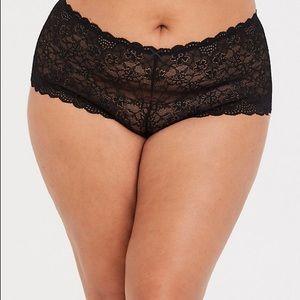 Set of 2 Torrid lace cheeky panties